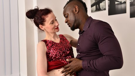 This Horny Mature Lady Loves A Younger Hard Black Cock