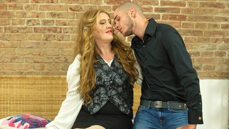 Naughty Mature Angelica Does Her Toy Boy