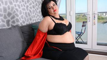 Curvy Bbw Anna Playing With Herself - presnted by Mature.nl