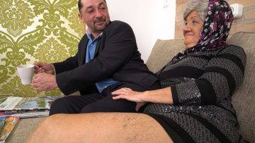 Granny Wants A Hard Cock - presnted by Mature.nl