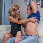 Horny Mature Housewife Fucks Her Toyboy - presnted by Mature.nl
