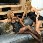 Hot Milf Having Great Fun With A Steamy Lesbian Mom - presnted by Mature.nl