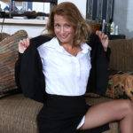 Naughty American Secretary Playing With Her Pussy - presnted by Mature.nl
