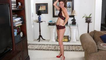 This Naughty Mom Gets Undressed And Then Some - presnted by Mature.nl