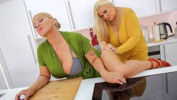 Two Big Breasted Mature Ladies Shopping For Toys - presnted by Mature.nl